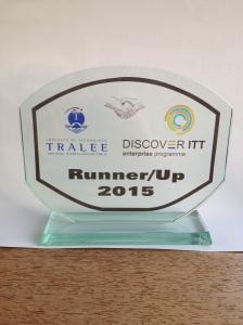 Discover ITT Runner Up Trophy