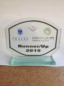 Discover ITT Runner Up Trophy