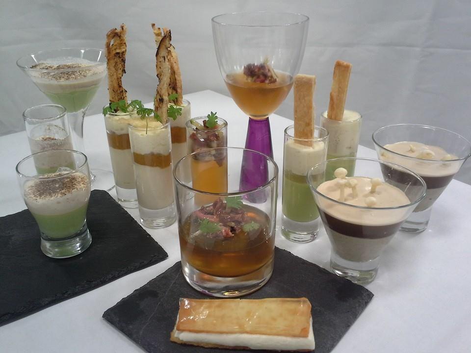 Week 2 amuse bouche food with darcy - French cuisine definition ...